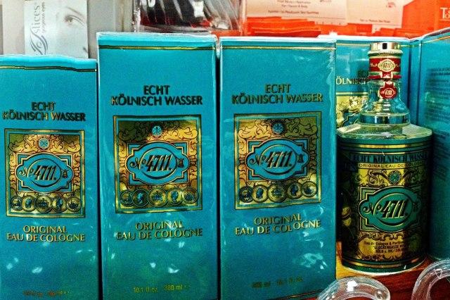 Parfum te koop in de winkel van 4711