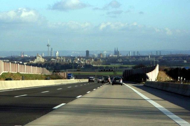 foto: A4 bij Keulen