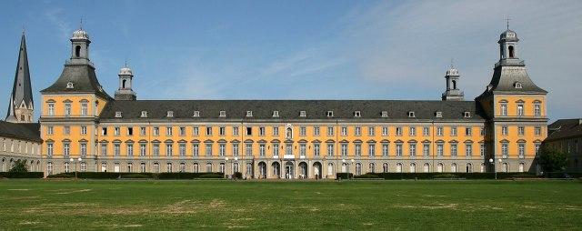 het Kurfürstliches Schloss van Bonn