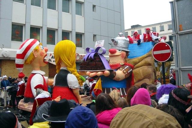 foto: optocht carnaval Keulen Rosenmontag