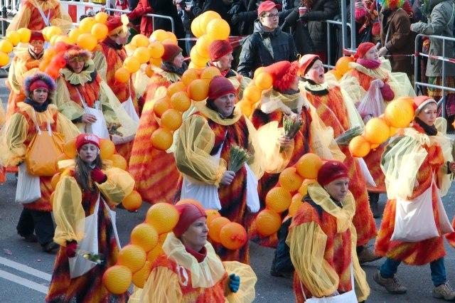 foto: optocht carnaval van Keulen