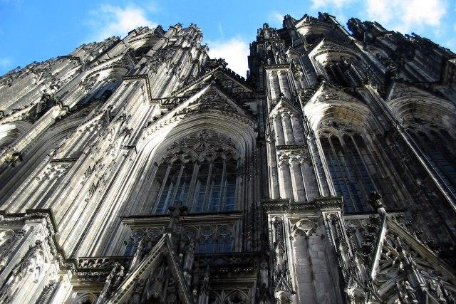 Twee torens van de Dom van Keulen