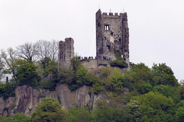 foto: de ruïne Drachenfels