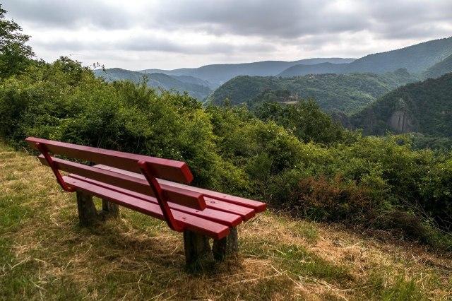 Typisch landschap in de Duitse Eifel