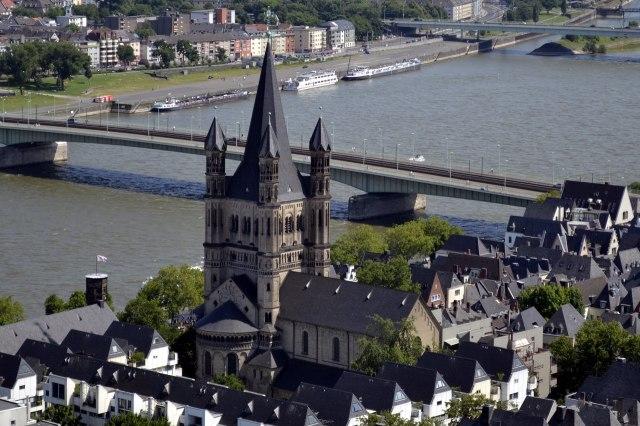 foto: de Grote Sint-Martinuskerk in Keulen