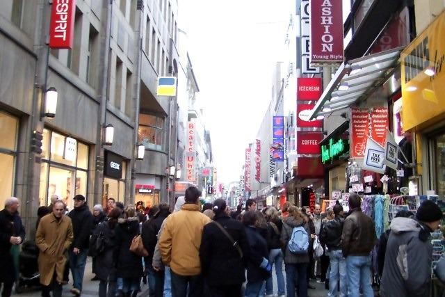 De Hohe Straße van Keulen