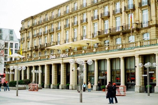 Het Dom-Hotel in Keulen
