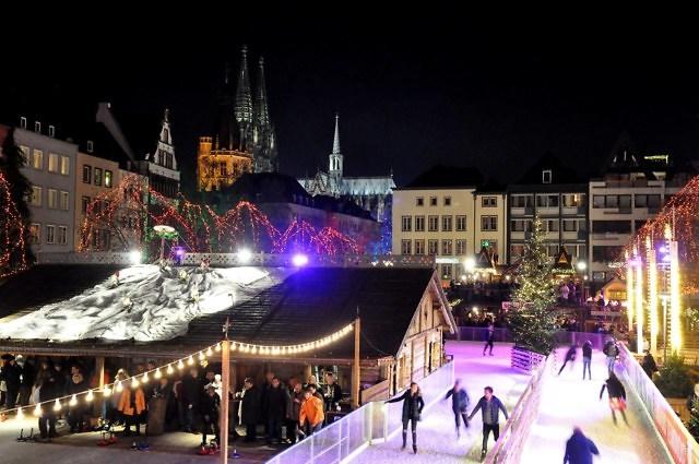 Kerstmarkt op de Heumarkt