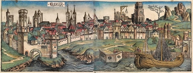 Keulen in de 15e eeuw, Schedelsche Weltchronik