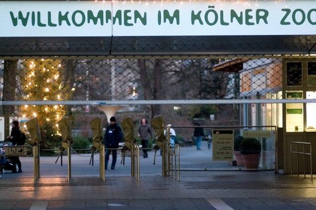 foto: ingang van de Kölner Zoo