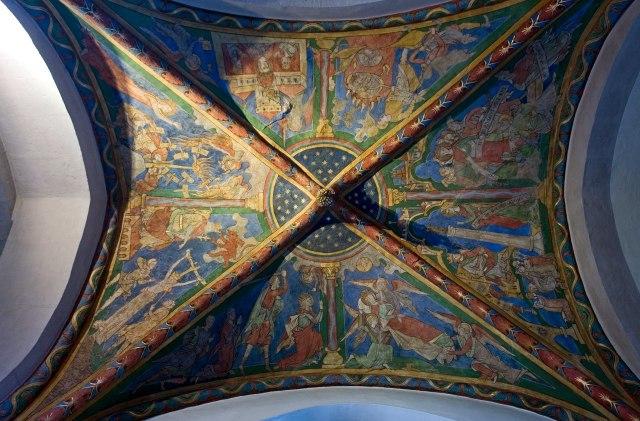 Fresco's in de Sint-Maria in Lyskirchen
