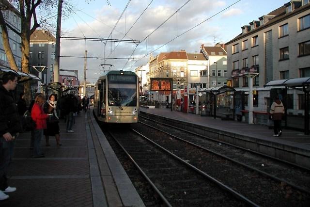 De populaire Stadtbahn van Keulen