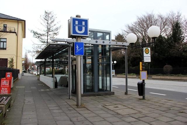 Een station van de Stadtbahn