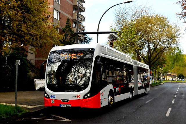 Een van de vele bussen van Keulen