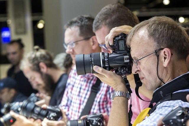 Camera's uitproberen
