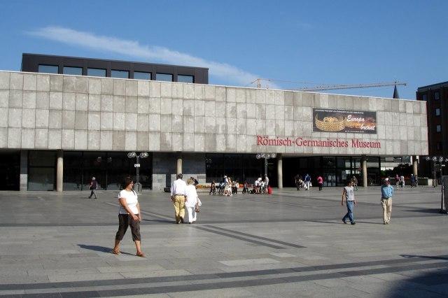 foto: het Romeins-Germaans museum in Keulen