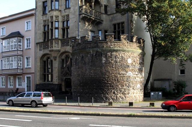 foto: Romeinse toren Keulen