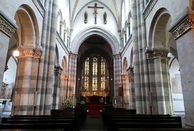 Zoals de kerk er tegenwoordig van binnen uitziet