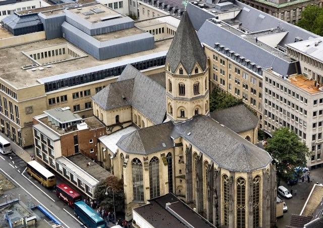 De Sint-Andreaskerk van Keulen