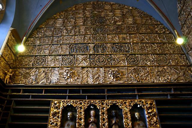 De beroemde Goldene Kammer van de kerk