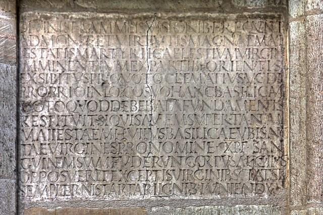 Het Clematiusinschrift