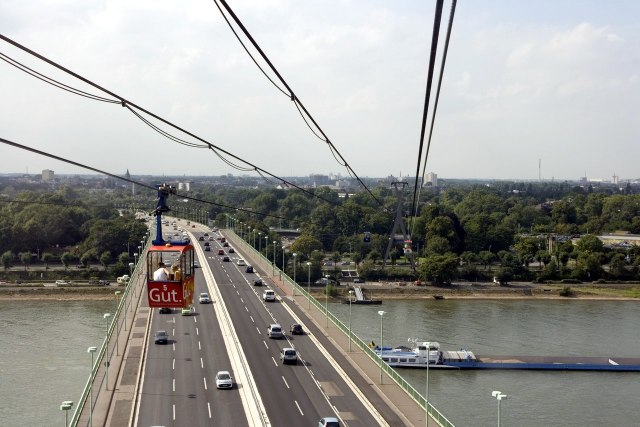 foto: kabelbaan en Zoobrücker