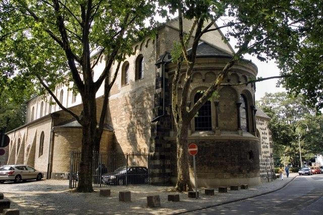 foto: De Sint-Ceciliakerk in Keulen