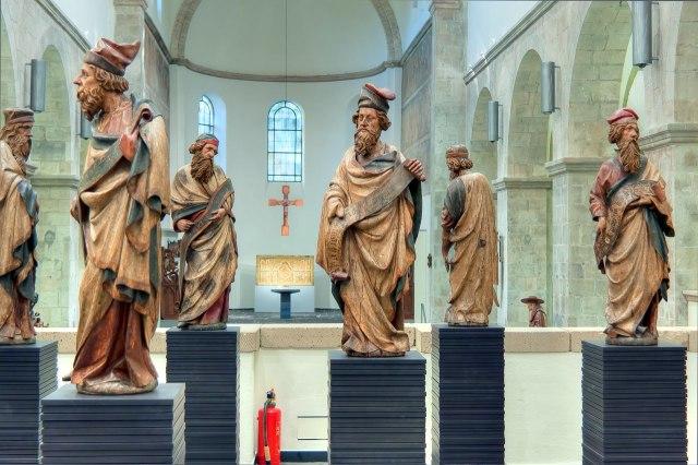 foto: expositie in de Sint-Ceciliakerk