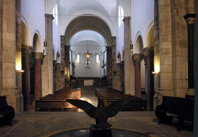 Interieur van de Sint-Joriskerk