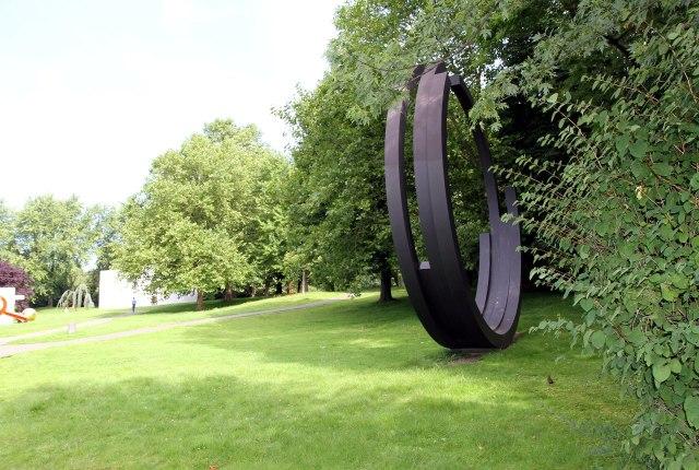 Hedendaagse kunst in het Skulpturenpark Köln