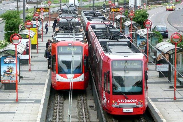 De Stadtbahn van Keulen