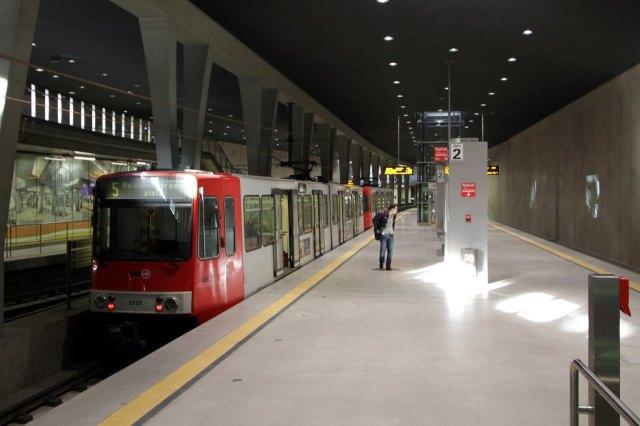 Ondergronds station Breslauer Platz