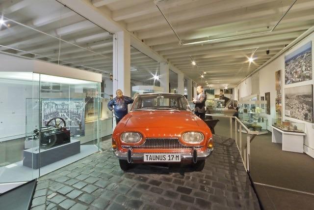 Een in Keulen geproduceerde auto