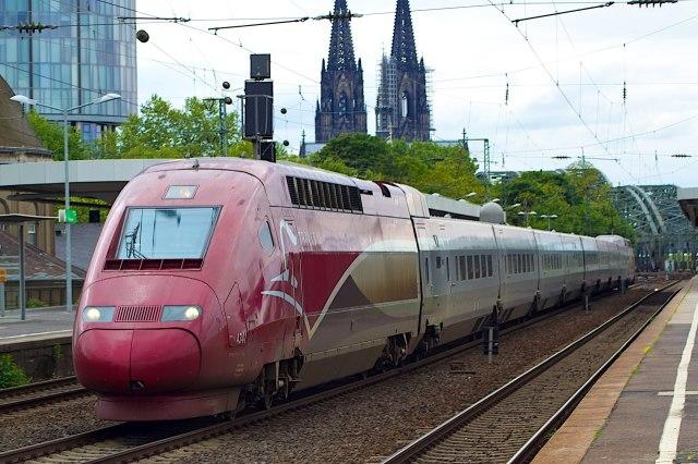 De Thalys in Keulen