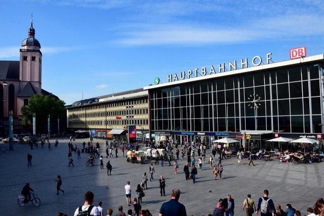 Het centraal station van Keulen