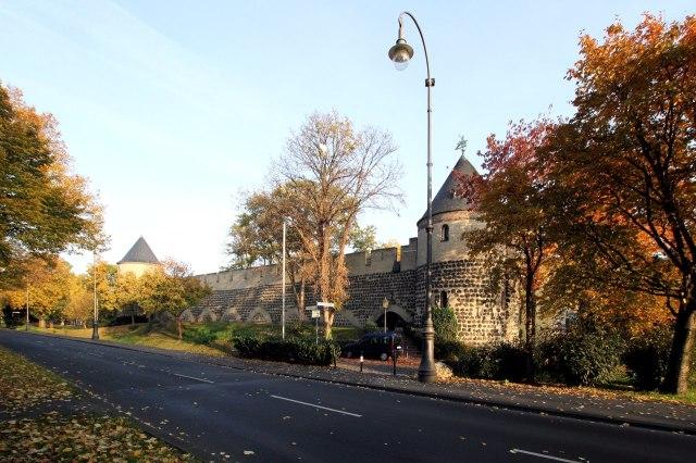 foto: Bewaard gebleven stadsmuur van Keulen
