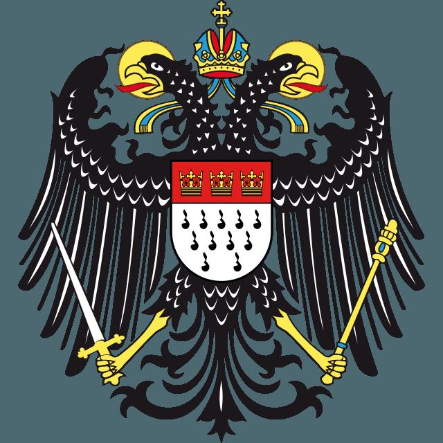 Wapen van Keulen met adelaar