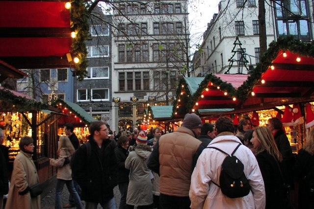 Op de kerstmarkt van Keulen
